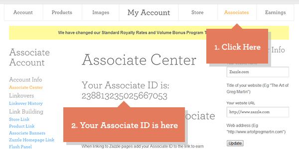 Associate ID